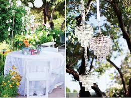 popular wedding tree decorations with backyard wedding decor