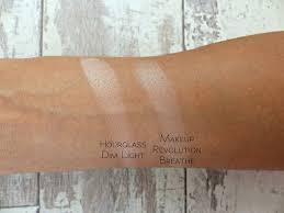 makeup revolution radiant lights amazing beauty dupes 2 comparison swatches jasmine talks