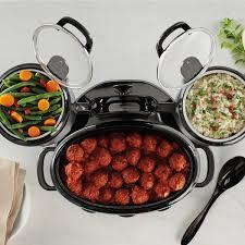 3 Crock Pot Buffet Recipes by Crock Pot Swing And Serve Slow Cooker Sccptower B Crock Pot