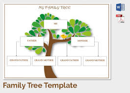 family tree template tryprodermagenix org