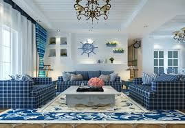 mediterranean style blue living room 2017 and pictures ceiling