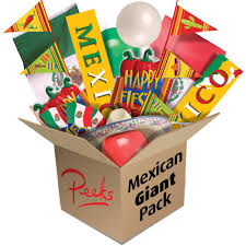 mexican themed party supplies