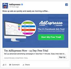 beginner u0027s guide to facebook ad types