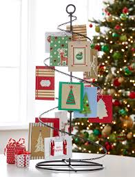christmas card holder fresh ideas for card displays container stories