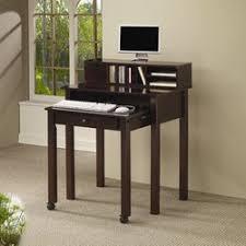 alcott hill wymer writing desk with hutch u0026 reviews wayfair