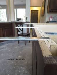 Support For Granite Bar Top Your Countertop Can Float With Countertop Support Brackets By The