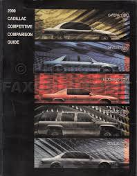 2000 cadillac seville repair shop manual original 3 volume set