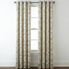 Blackout Curtains Grommet Home Expressions Glendale Leaf Grommet Top Blackout Curtain Panel