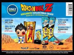dragon ball dragon ball exclusive collectible crate multi