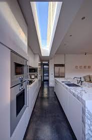 Small Galley Kitchen Design by Interesting Small Modern Galley Kitchen Of Minimalist Design E