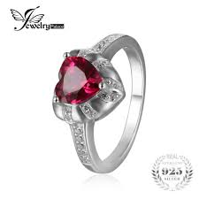 ruby engagement rings compare prices on ruby heart engagement ring online shopping buy