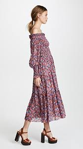 flower dress shoulder cosmic flower dress shopbop