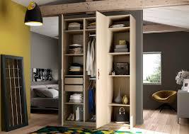 placard de rangement pour chambre armoire ouverte dressing patcha