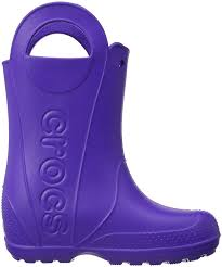 crocs light up boots crocs baya crocs handle it unisex kids rain boots purple