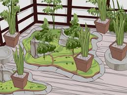 small family garden how to build a japanese garden with pictures wikihow