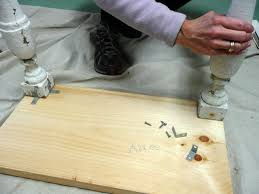 attaching legs to a table how to make a table from an old suitcase how tos diy