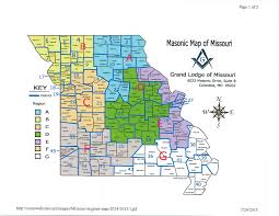 columbia missouri map district map the grand lodge of missouri