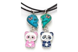 sweet and sassy earrings sweet sassy panda bff mood necklace set