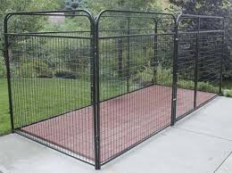 8 u0027 x 8 u0027 x 6 u0027 basic wire modular dog kennel