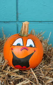 No Carve Pumpkin Decorating Ideas No Carve Pumpkin Decorating