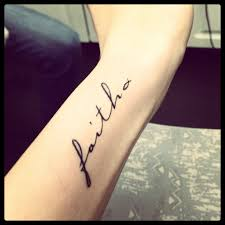 faith tattoos on wrist girls faith best tattoo design ideas