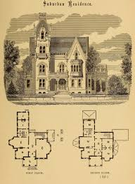 images about architecture vintage floor plans on pinterest design images about architecture vintage floor plans on pinterest design for a suburban residence gothic revival except the tower which is more french