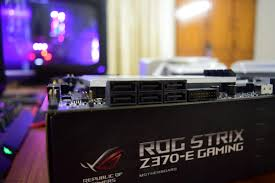 asus rog maximus x and strix z370 e gaming motherboard review