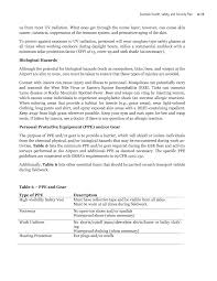 Resume Internship Objective Appendix A Example Health Safety And Security Plan Improving