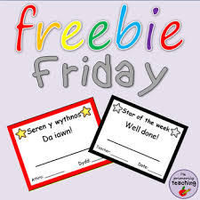 rainbow black friday star of the week mini certificate welsh u0026 english rainbow