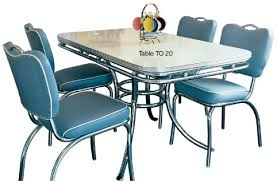 50 s diner table and chairs american diner furniture retro diner sets 50s american diner