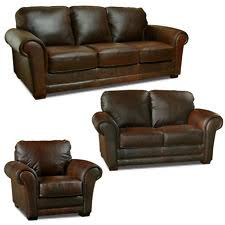 Distressed Leather Armchairs Distressed Leather Sofa Ebay