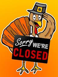thanksgiving day we will be closed cfire grille bridgton maine