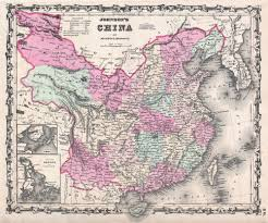 A Map Of China by File 1861 Johnson Map Of China Geographicus China Johnson 1861