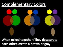 complementary colors to gray element color elements and principles of art and design ppt video
