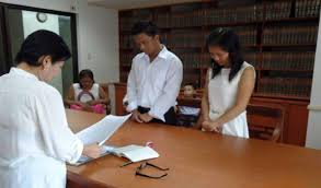 wedding in the what are the requirements and procedure for a civil wedding in the