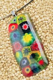 How To Make Fused Glass Jewelry - microwave bead kiln demonstration tutorial have you ever wanted to