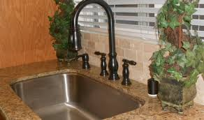 moen kitchen faucets rubbed bronze sink biscuit copper kitchen sink faucet wide spread two handle