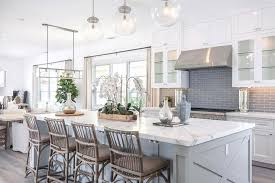 Traditional White Kitchens - white kitchen backsplash dark cabinets l shape brown kitchen