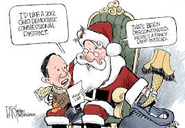 kucinich u0027s christmas wish list editorial cartoon cleveland com