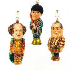 christopher radko the three stooges ornament set sbkgifts