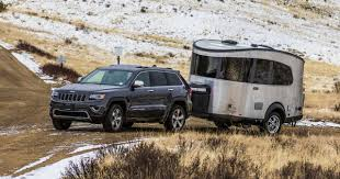jeep hauling trailer meet the airstream you can pull behind a subaru