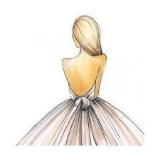 25 beautiful dress drawing ideas on pinterest watercolor dress