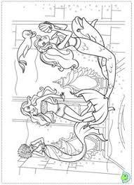 mermaid barbie coloring pages mermaid barbie