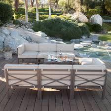 10 seat sectional sofa coral coast bellagio 10 pc aluminum sectional sofa set seats 8