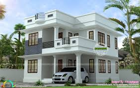 modern home floorplans neat and simple small house plan kerala home design and floor