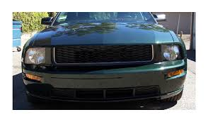 2005 Mustang Gt Black How To Install Cervini U0027s Type 3 Chin Spoiler Textured Black On