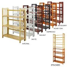 stackable bookcases solid wood stacking bookshelves folding bookshelf java solid wood stackable 17