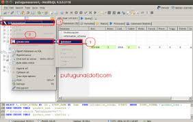 membuat database lewat cmd cara membuat database table primary key foreign key di heidisql