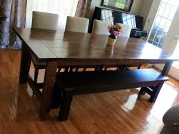 dining table rustic dining room tables prominent plank dining