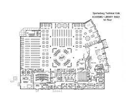 Shop Floor Plan New Academic Library Facility Floorplans